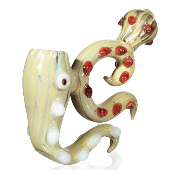 "Dragon Queen - 7"" Horned Sherlock Bubbler"