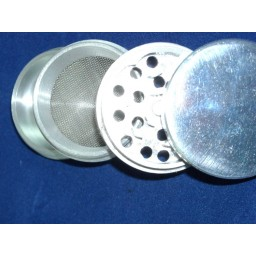 "Large 4 pc 2.5"" Aluminum grinder"