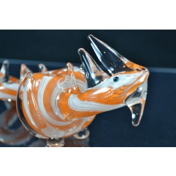 Striped Dragon Animal - Cute Colored Dragon