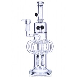 "The Arquillian Alien Recycler - 13"" Recycler Bong Star fighter Perc to Shield Perc"