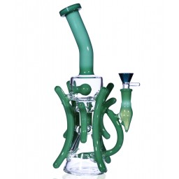 "The German Ivy Recycler - 11"" Multilayer Recycler With Inline Perc"