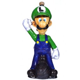 "6"" Character Wooden Pipes -Luigi"