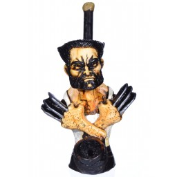 "6"" Character wooden pipes - Wolverine"