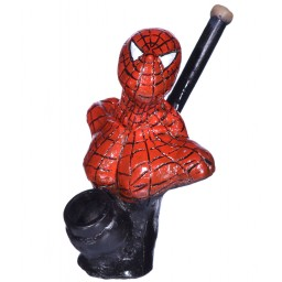 "6"" Character wooden pipes - Spiderman"