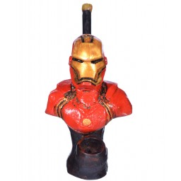 "6"" Character wooden pipes - Ironman"