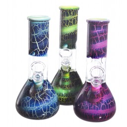 "8"" Crackle Perc - Special Price - Assorted Colors - Assorted Designs"