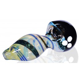 The OVNI Flight - 4 inch Dichro Heavy Black Head Pipe