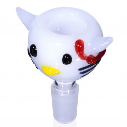 Cute Kitty - Male Dry Herb Bowl - 14mm
