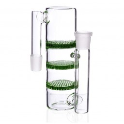 Triple Honeycomb AshCatcher - 19mm - Green