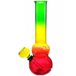 "7"" Rasta Bong Water Pipe"