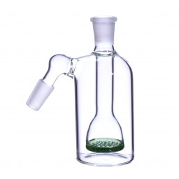 Inset Honeycomb Disc Ashcatcher - 14mm - Green