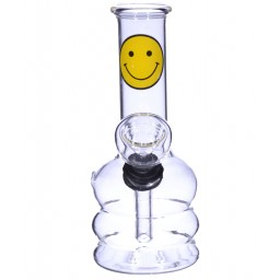 "5.25"" Happy Face Mini Water Pipe - Happy Face"